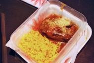 Carrillera de cerdo con arroz, de Oviedo / Pork jaw and rice, by Oviedo