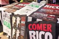 """""""Comer rico hace bien"""", el lema de la Feria Masticar / """"Eating well is good for you"""", the slogan of Feria Masticar"""